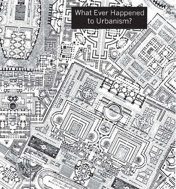 Que ha sido del Urbanismo? Rem Koolhaas